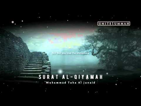 Muhammad Taha Junaid | Surat Al-qiyamah | Beautiful Recitation video