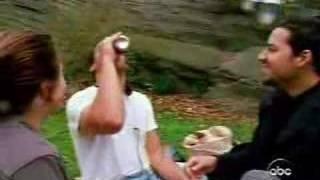 David Blaine - Beer Trick