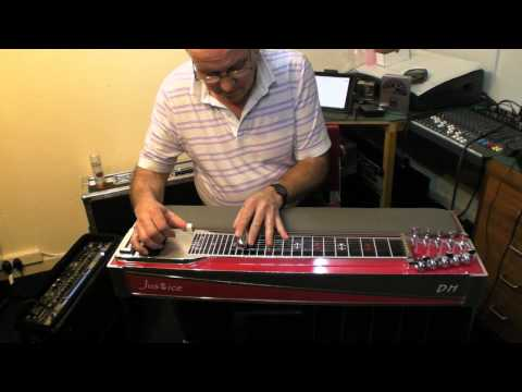 David Hartley on the NEW Justice Steel Guitar