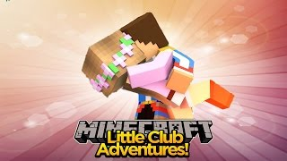 LITTLE KELLY & LITTLE DONNY FALLING IN LOVE AGAIN!!! - Minecraft Little Club Adventures