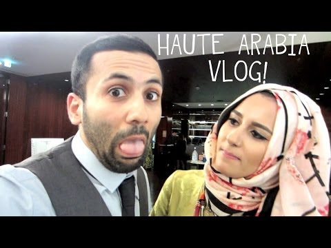 HAUTE ARABIA FASHION SHOW VLOG!