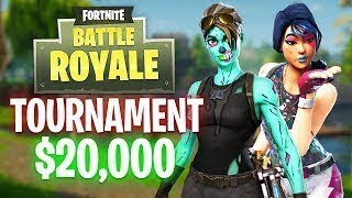 $20,000 FORTNITE TOURNAMENT -fortnite funny and best moments(episode 7)