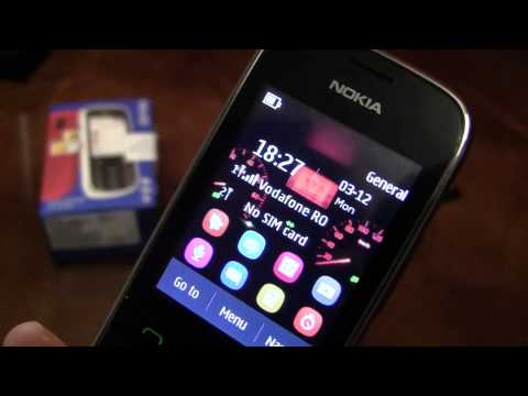 Nokia Asha 202 Video clips