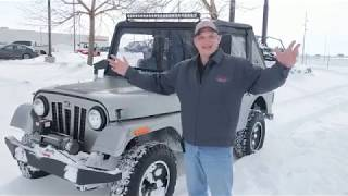 The 2019 Mahindra Roxor Walk-around with Chris Cluts - Watch Chris Tear thru the Snow!