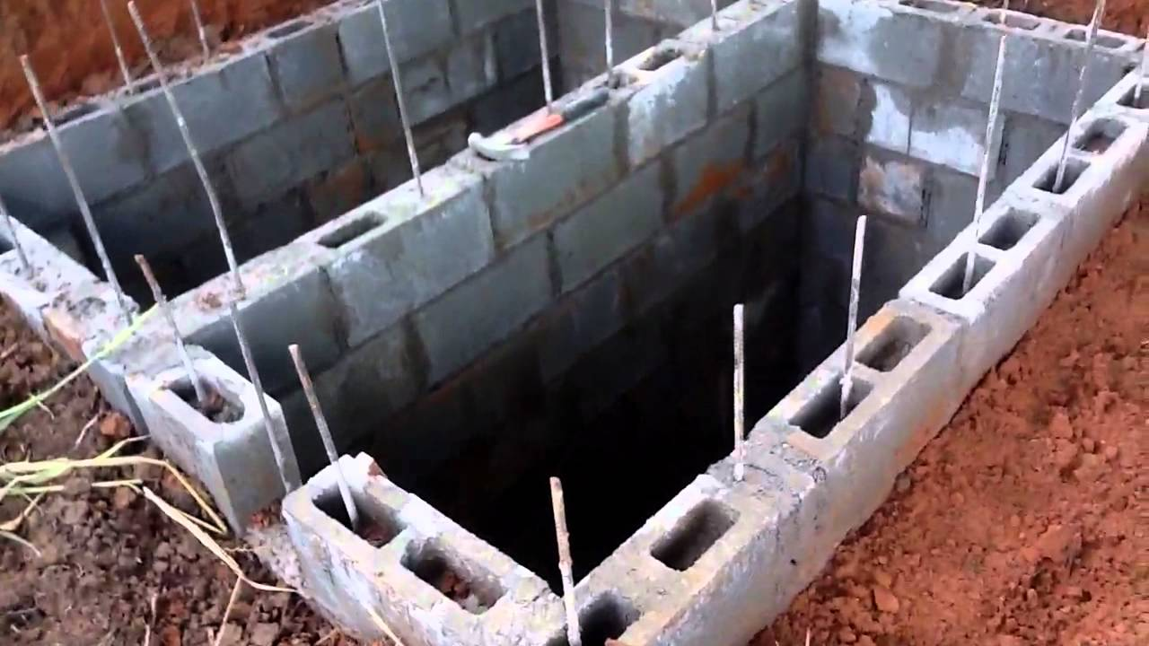 Handmade diy low cost septic system youtube for How to build a septic tank