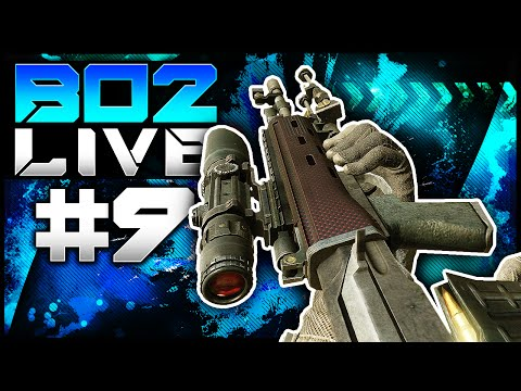 CoD BO2: SHARPSHOOTER! - LiVE w/ Elite #9 (Call of Duty Black Ops 2 Multiplayer Gameplay)