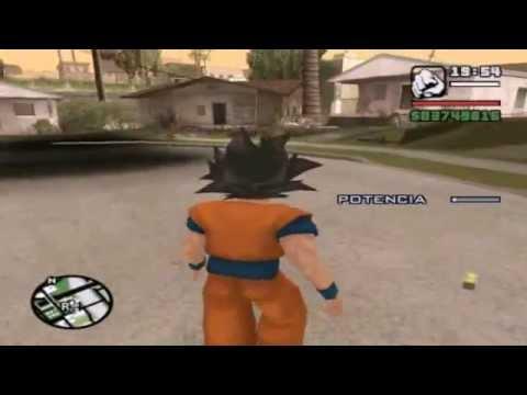 Cj descubre que es el hermano perdido de Goku LOQUENDO | Gta San andreas