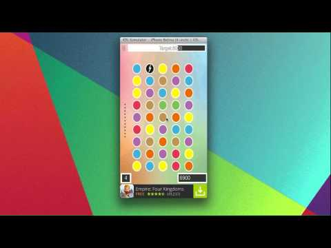 Dots Match – Universal iOS Game App Template + AdMob/RevMob and Flurry