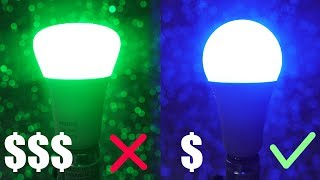Other YouTubers Are WRONG about Smart Colored Light Bulbs! The CHEAP Philips Hue Alternative!