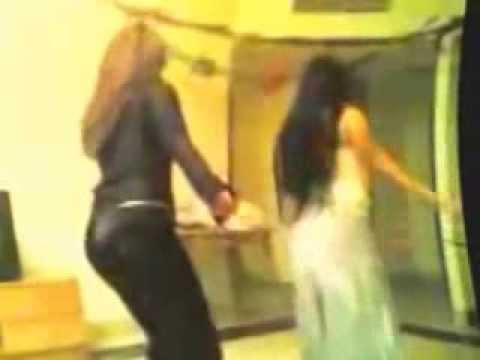 Two  Arab Girls Dance @ Home