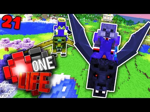 FLYING WITH JOEL - Minecraft One Life SMP EP21