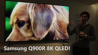Samsung Q900R 8K QLED TV Hands-On First Look