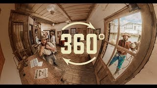 Experience Ghost Town Alive! In 360° At Knott