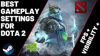Dota 2 - Settings for Best FPS - Visibility - Nvidia Graphic - Launch Options - Power Options -