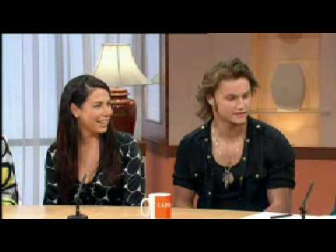 Kate Ritchie and Mark Furze on Loose Women