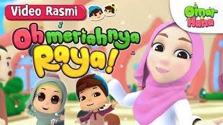 Lagu Raya   Siti Nordiana x Omar & Hana   Oh Meriahnya Raya!   Video Rasmi