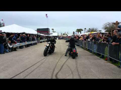 Factory Victory Stunt Team Daytona Bike Week 2015