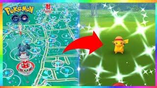 LIVE🔴 SHINY STRAW HAT PIKACHU RELEASE in Pokemon Go! EARLY SHINY STRAW HAT PIKACHU ACCESS!