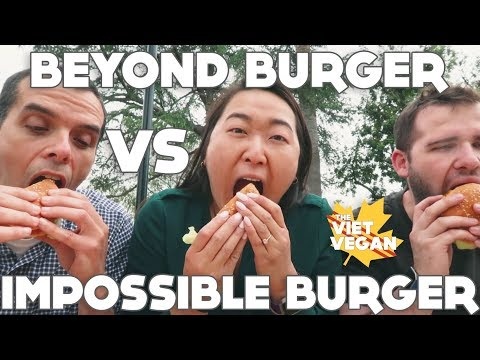 Impossible Burger VS Beyond Burger ft. Vince Lia!