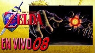 Zelda Ocarina Of time 3D  #8   Bongo Bongo  En vivo   Reto 3 corazones