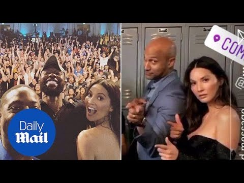 Olivia Munn promotes her newest film The Predator at Comic-Con - Daily Mail