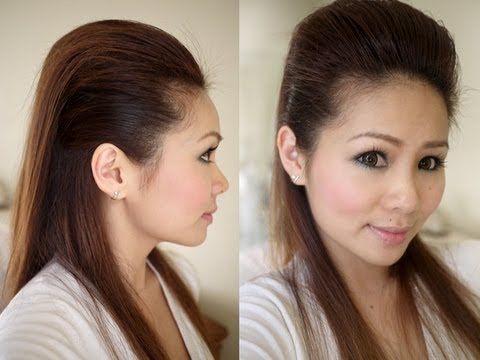 Hair Style Youtupe : Easy Sleek Hairstyle Tutorial - YouTube
