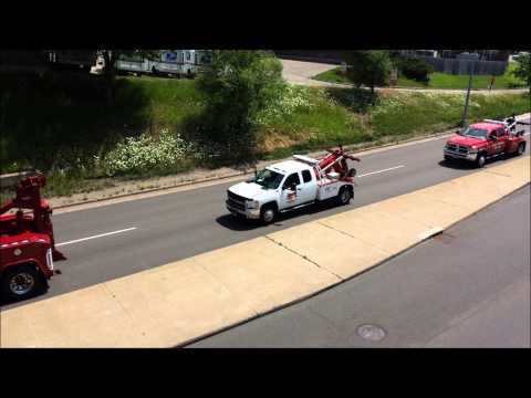 Fallen Tow Truck Driver Christopher Clavin Funeral Procession 7/5/14