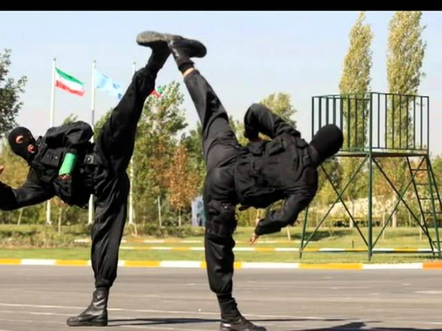 Iranian Police Special Forces (NOPO)