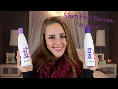 Nisim Fast Shampoo & Conditioner Review: Week 2 Update