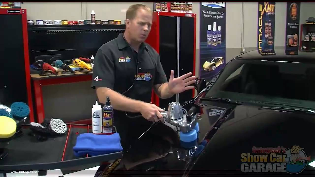 How To Polish A Car With Electric Buffer