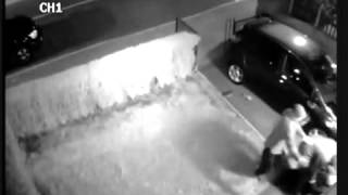 CCTV Footage of 80 year old Eamonn Durcan Being Robbed