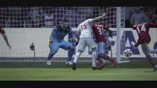 Лучшие моменты матчей в FIFA 15