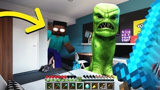 NEVER PLAY MINECRAFT IN REAL LIFE! SCARY