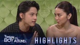 "TWBA: KathNiel relate their movie ""The Hows of Us"" to their life as a couple"