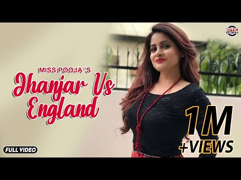 Jhanjran Vs England | Ptc Star Night | Miss Pooja | Full Official Music Video video
