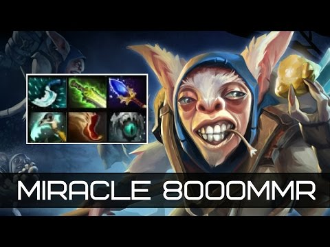 Super Game Meepo by Miracle Top-1 MMR