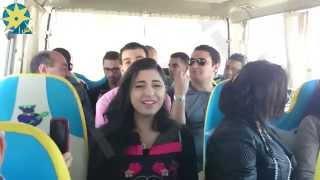 بالفيديو:نجمة عرب ايدول ( مستنياك) في الباص أثناء العودة من مهرجان ايلاند الغردقة