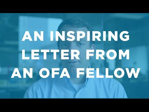 An inspiring letter from an OFA Fellow: Organizing Update with Jon Carson
