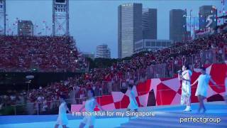 Watch Corrinne May Song For Singapore video
