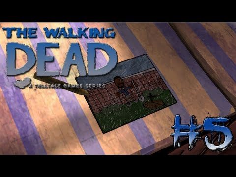 Where Is Clem?!!! - The Walking Dead - Around Every Corner Pc Walkthrough Gameplay Part 5 video