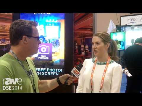 DSE 2014: Gary Kayye Interviews Lia Osburn at Elevate Digital