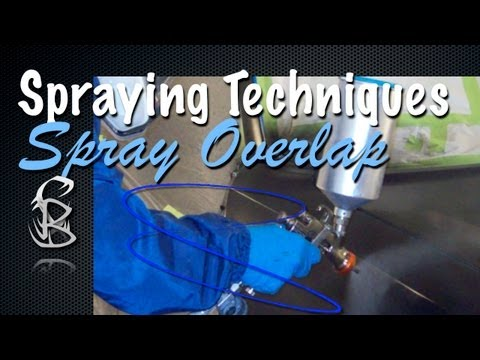 DIY Car Painting Techniques - Spray Gun Overlap For Applying Paint Coatings