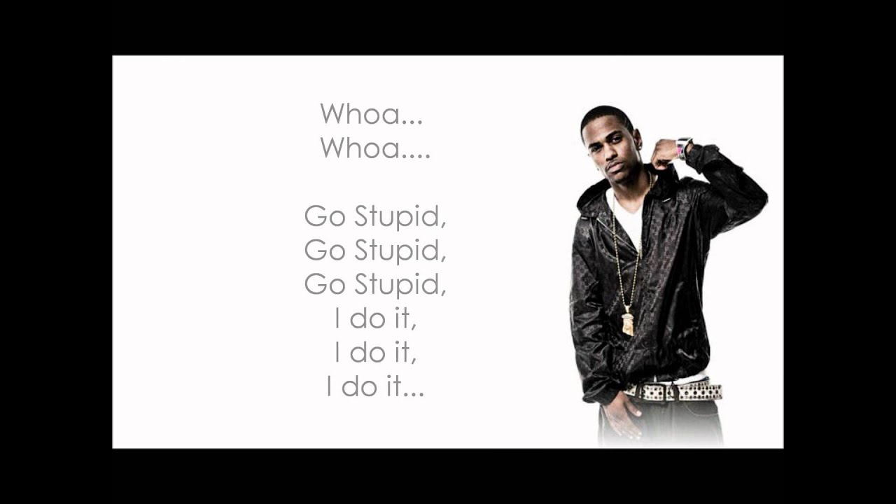 Big sean ft nicki minaj ass lyrics