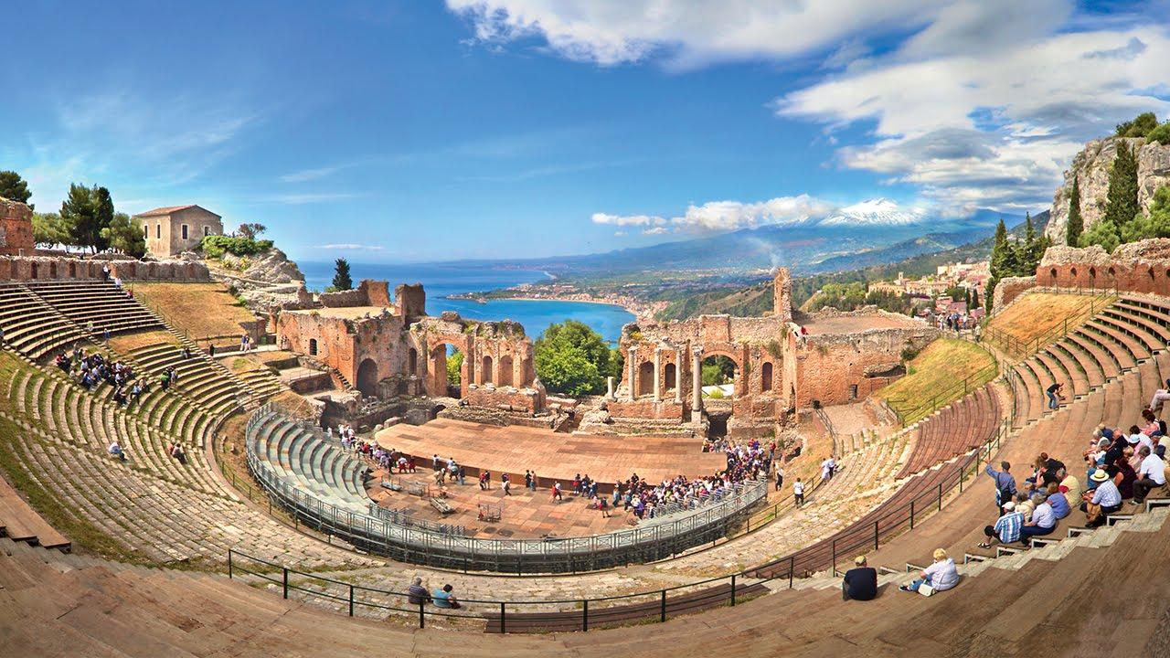 Taormina e giardini naxos imperatore travel youtube - La finestra sul mare taormina ...