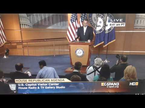 John Boehner Blames Eric Cantor's Loss On...Wait for It...President Obama!!