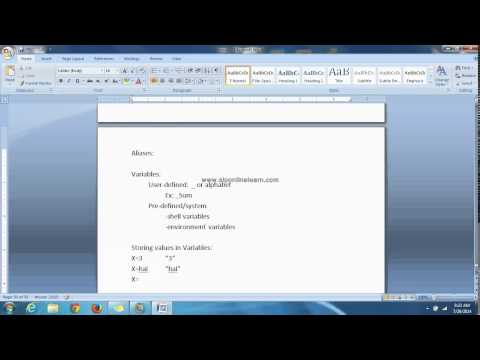 Unix And Shell Programming Chapter   13 INTRODUCTION TO KSHELL   PART 1
