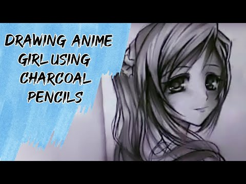 Anime Girl With Camera Drawing Drawing Cute Anime Girl Using