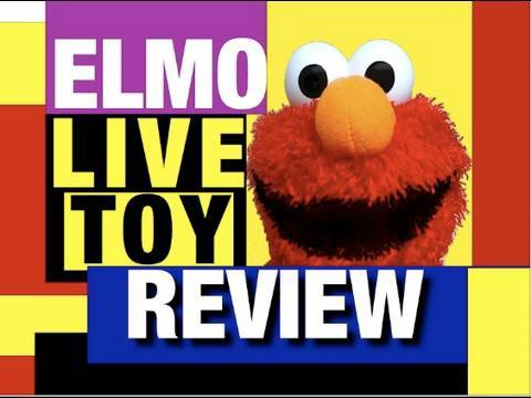 ELMO LIVE Toy GOOD or BAD? Sesame Street Plush Toy Funny Video Review Mike Mozart  JeepersMedia