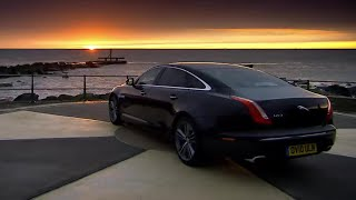 Race with the Sunrise\ufeff - The New Jaguar XJ - Top Gear - BBC