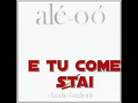 Claudio Baglioni Ale-oo TUTTE LE CANZONI